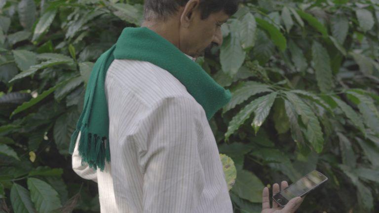 Farmer with app 1